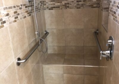 Shower Remodel for a Family in Need